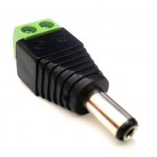 Conector P4 Macho com Borne (Pct c/ 10 unid)